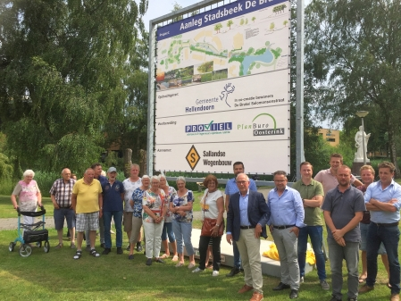 Start aanleg Stadsbeek de Brake